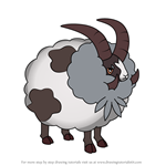 How to Draw Dubwool from Pokemon