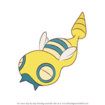 How to Draw Dunsparce from Pokemon