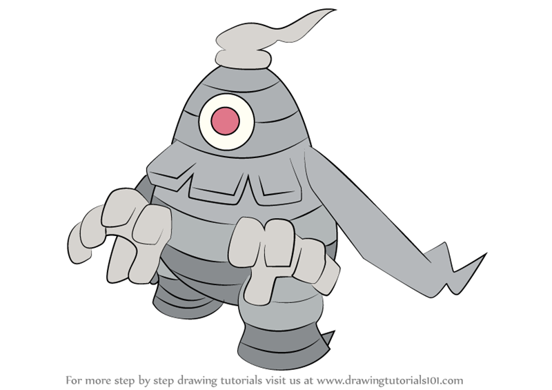 dusknoir pokemon coloring pages - photo#47