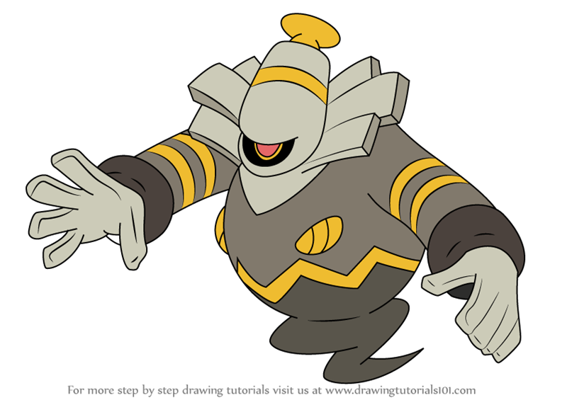 dusknoir pokemon coloring pages - photo#5