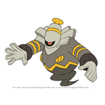 How to Draw Dusknoir from Pokemon
