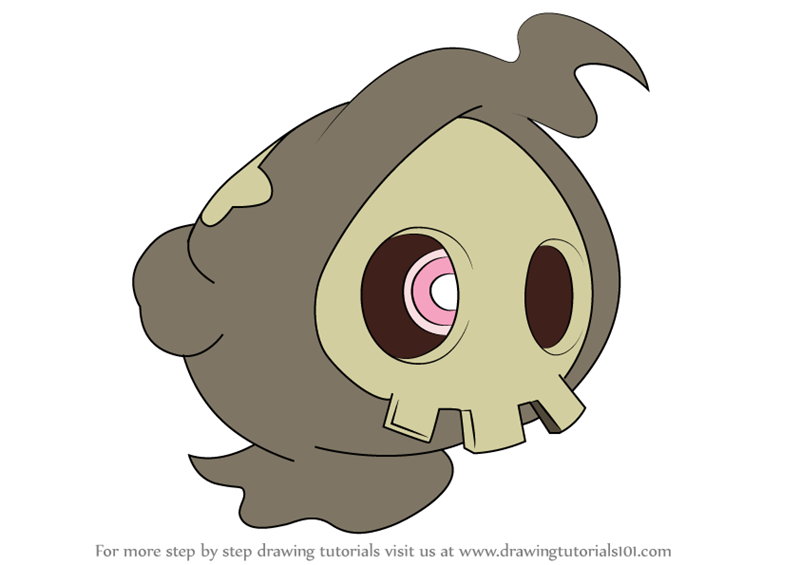 duskull pokemon coloring pages - photo#9