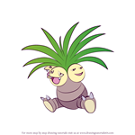How to Draw Exeggutor from Pokemon