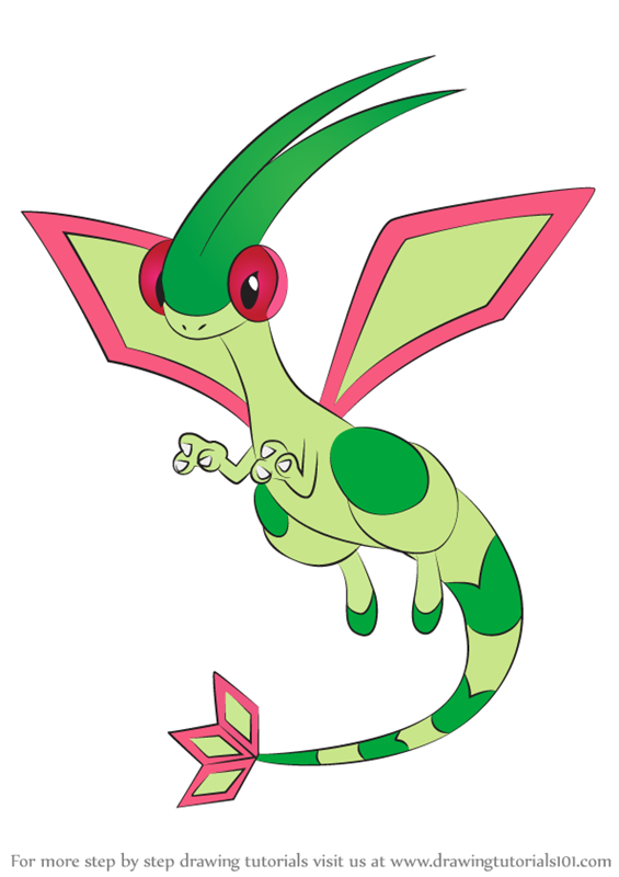 flygon coloring pages - photo#8
