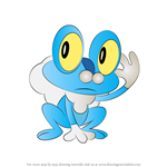 How to Draw Froakie from Pokemon