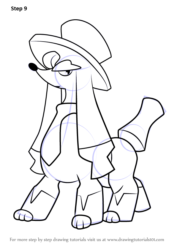 Learn How to Draw Furfrou Dandy