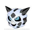 How to Draw Glalie from Pokemon