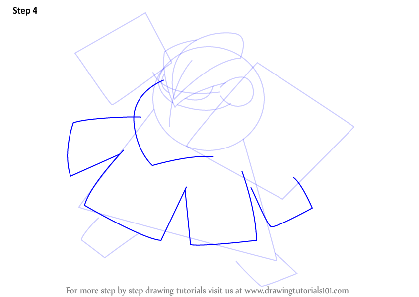 how to draw cyndaquil step by step