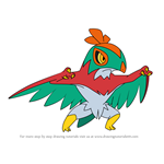 How to Draw Hawlucha from Pokemon