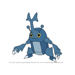 How to Draw Heracross from Pokemon