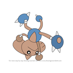 How to Draw Hitmontop from Pokemon