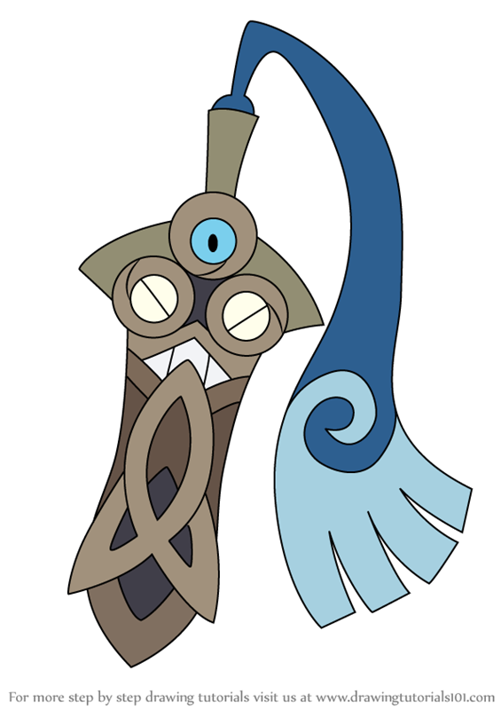 Step By Step How To Draw Honedge From Pokemon