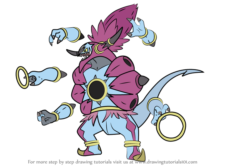Learn How to Draw Hoopa Unbound