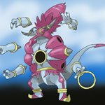 How to Draw Hoopa Unbound from Pokemon