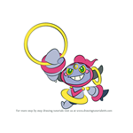 How to Draw Hoopa from Pokemon
