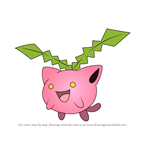 How to Draw Hoppip from Pokemon