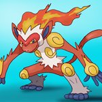 How to Draw Infernape from Pokemon