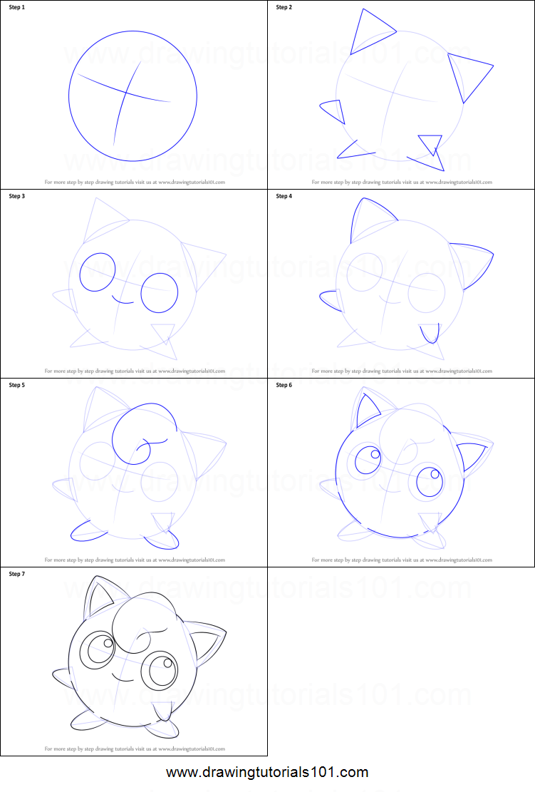 step by step how to draw torchic