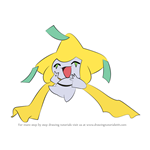 How to Draw Jirachi from Pokemon