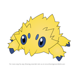 How to Draw Joltik from Pokemon