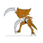 How to Draw Kabutops from Pokemon