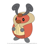 How to Draw Kricketot from Pokemon