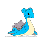 How to Draw Lapras from Pokemon
