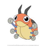 How to Draw Ledyba from Pokemon