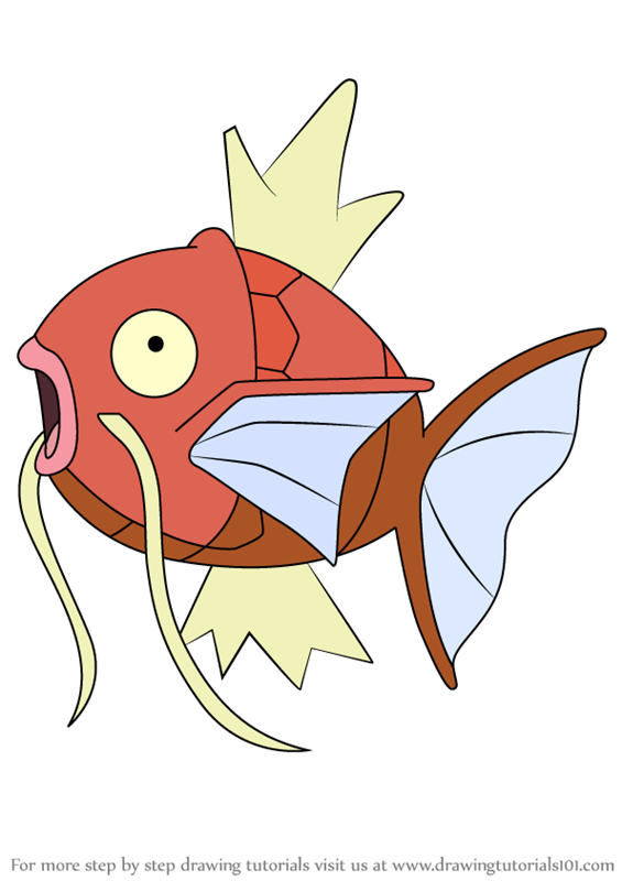 Learn How to Draw Magikarp from