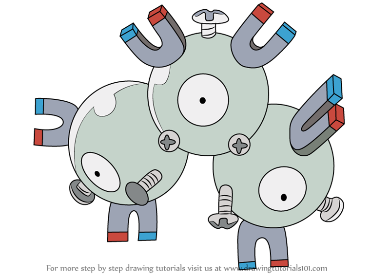 pokemon magneton coloring pages - photo#8