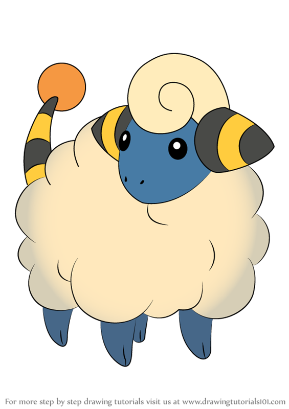 Learn How to Draw Mareep from Pokemon