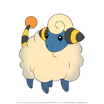 How to Draw Mareep from Pokemon
