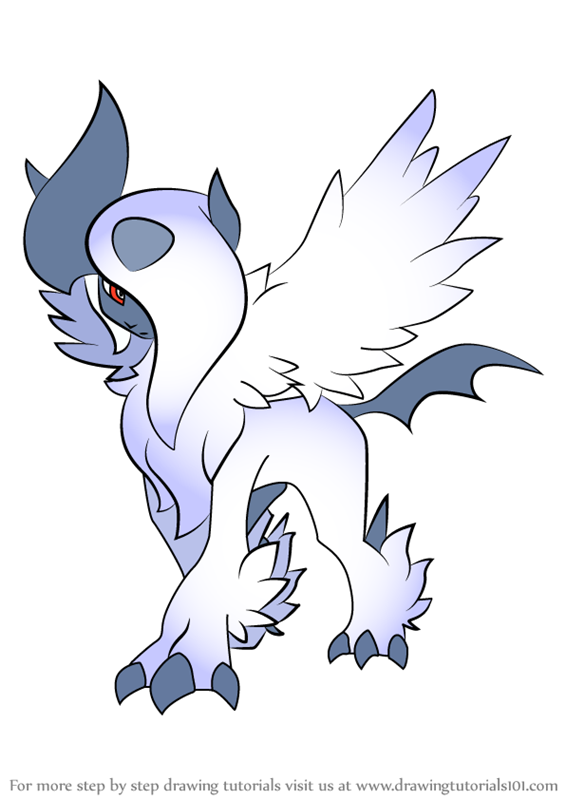 coloring pages absol - photo#25