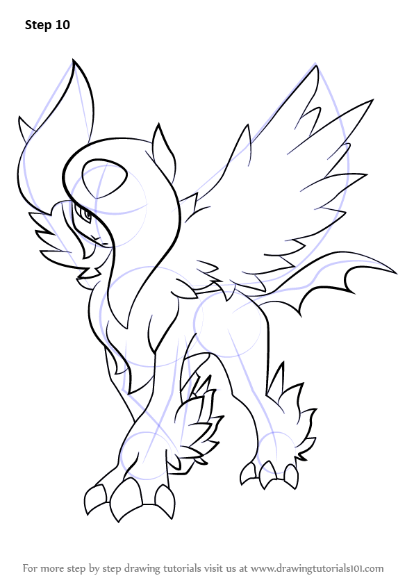 Learn How to Draw Mega Absol from