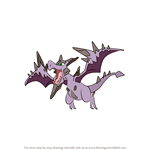 How to Draw Mega Aerodactyl from Pokemon