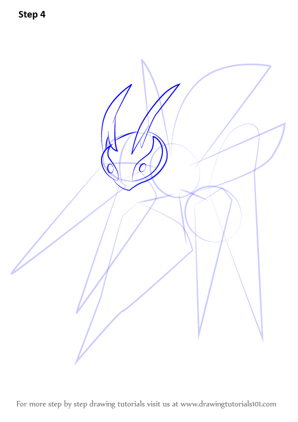 how to draw mega beedrill step by step