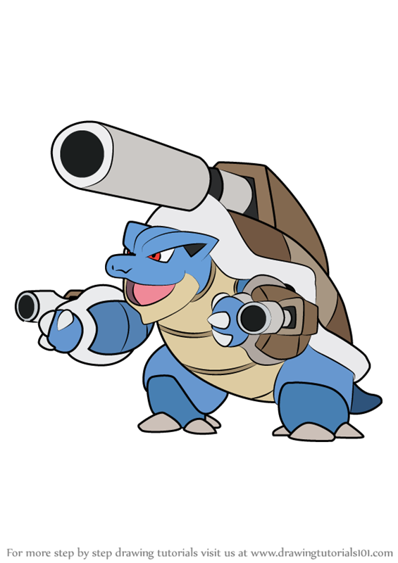 Pictures to draw mega drawing. Learn how blastoise from