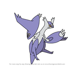 How to Draw Mega Latias from Pokemon