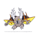 How to Draw Mega Pinsir from Pokemon
