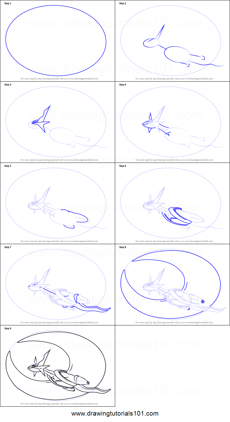 How to Draw Mega Salamence from