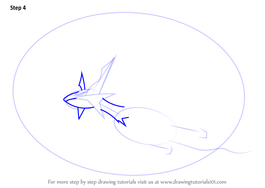 Step By Step How To Draw Mega Salamence From Pokemon
