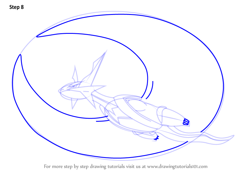 Learn How to Draw Mega Salamence
