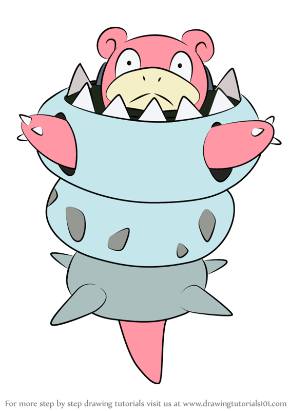 Learn How to Draw Mega Slowbro