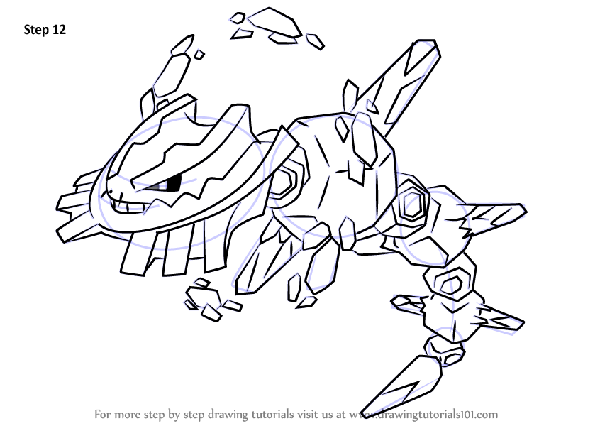 How To Draw Mega Steelix From Pokemon on primal x at
