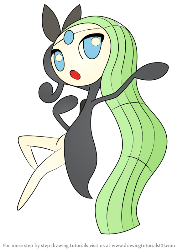 Learn How to Draw Meloetta from