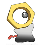 How to Draw Meltan from Pokemon