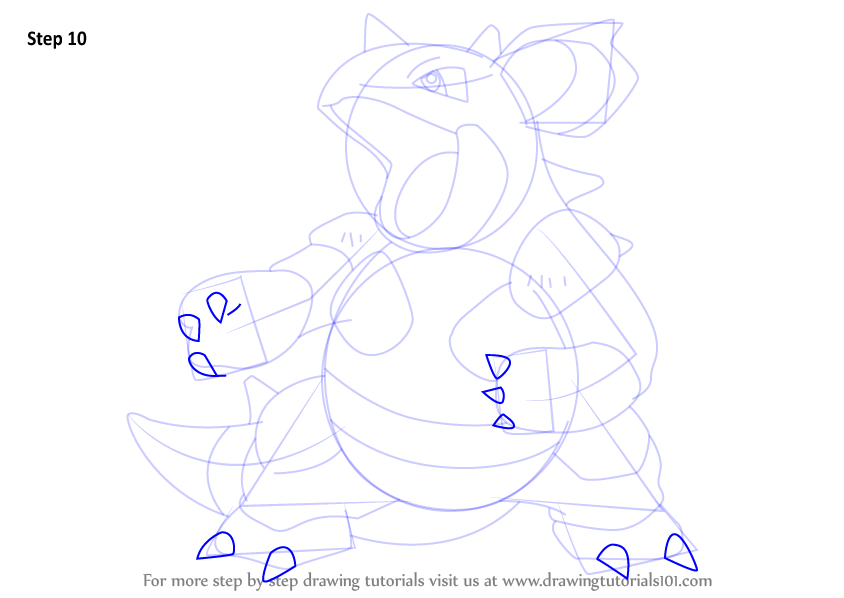 how to draw nidoqueen pokemon
