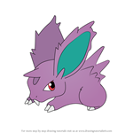 How to Draw Nidoran from Pokemon