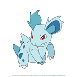 How to Draw Nidorina from Pokemon