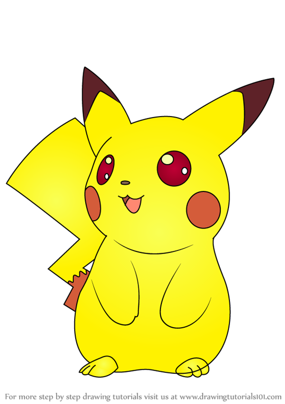 Gallery For gt Pikachu Pokemon Drawing